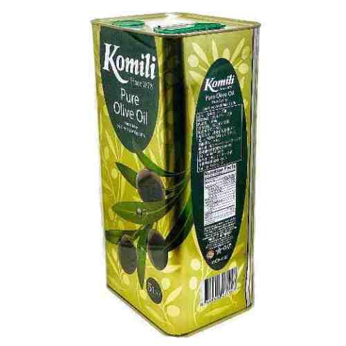 オリーブ油(ピュア)5L缶 KOMILI(コミリ)
